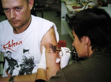 Primer tatuatge fet