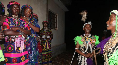 Joana Catot en el Camerún
