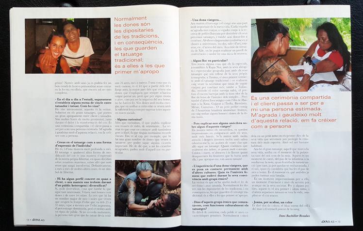 Entrevista a Joana Catot per la Revista Dona de Barcelona