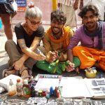 Joana Catot a Tamil Nadú Índia