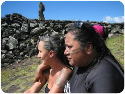 Joana Catot Rapa Nui